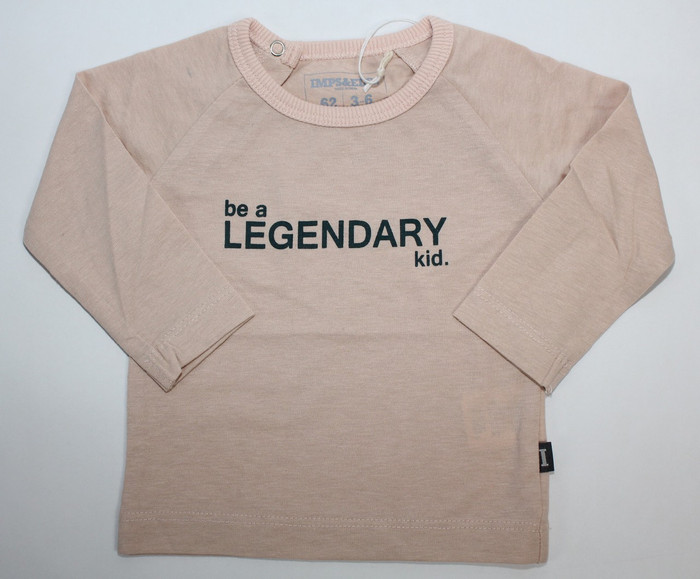 Imps & Elfs Long Sleeve Legendary T-Shirt,Cappucino