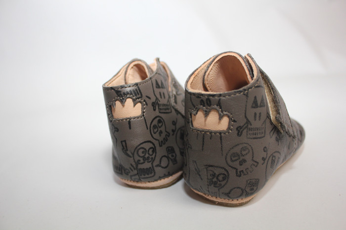 Easy Peasy Hand-crafted Butter-Soft Taupe Leather Shoes - Kiny Pirate