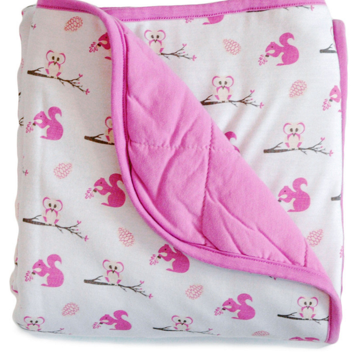 Kyte Baby Quilted Bamboo Blanket, Blossom Park