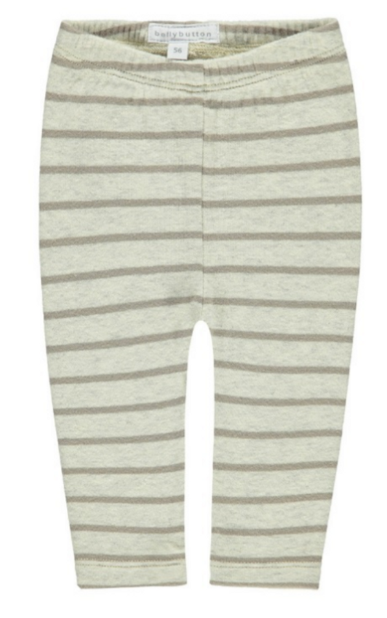 Bellybutton Organic Cotton Leggings, Stripe
