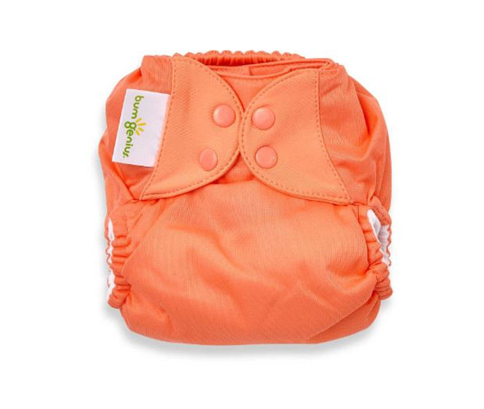 bumGenius Freetime All-in-One Cloth Diaper, Kiss