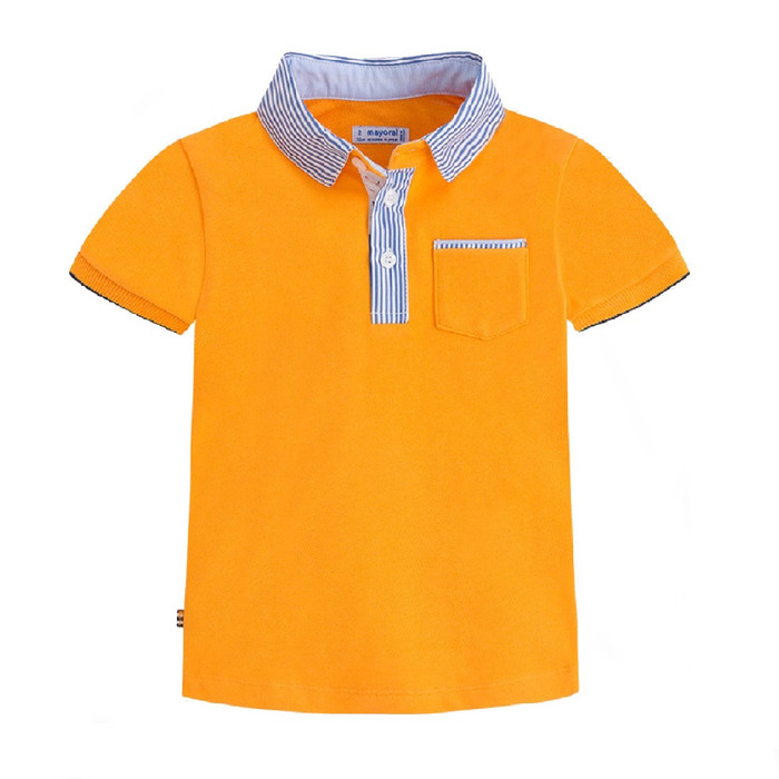 Mayoral Boys Dressy Polo Shirt
