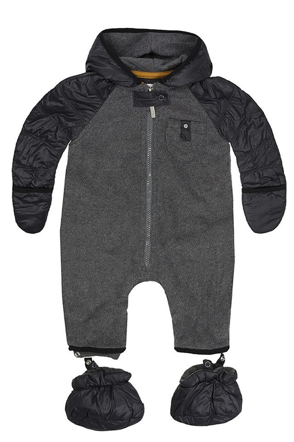 Bellybutton Overall Hoodie - Robot