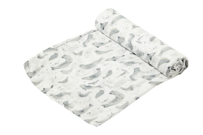 Angel Dear Bamboo Swaddle - Seals
