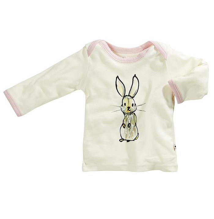Babysoy Janey Baby Tee - Rabbit