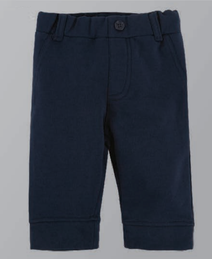 Andy & Evan Navy Soft Pants - The Voyagers