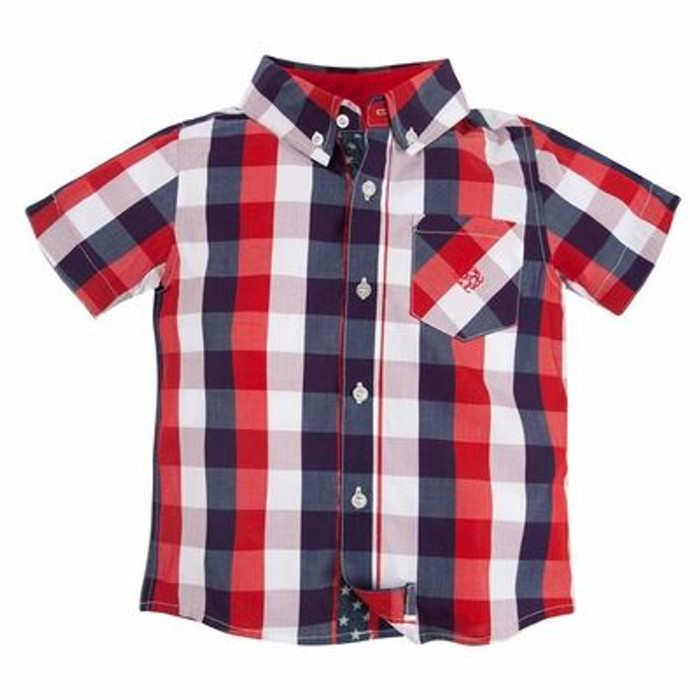 Andy & Evan Lil' Drummer Boy Shirt - Red