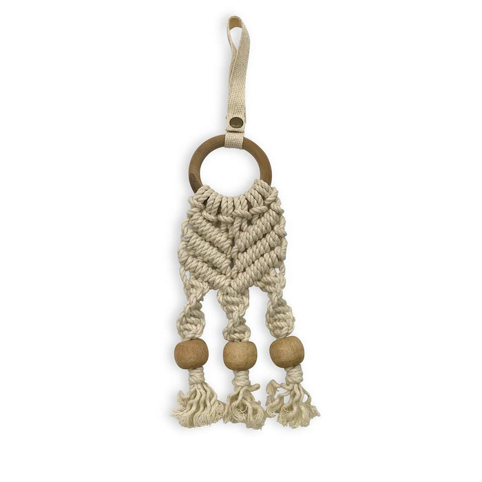 Finn + Emma Organic Beaded Macrame Toy