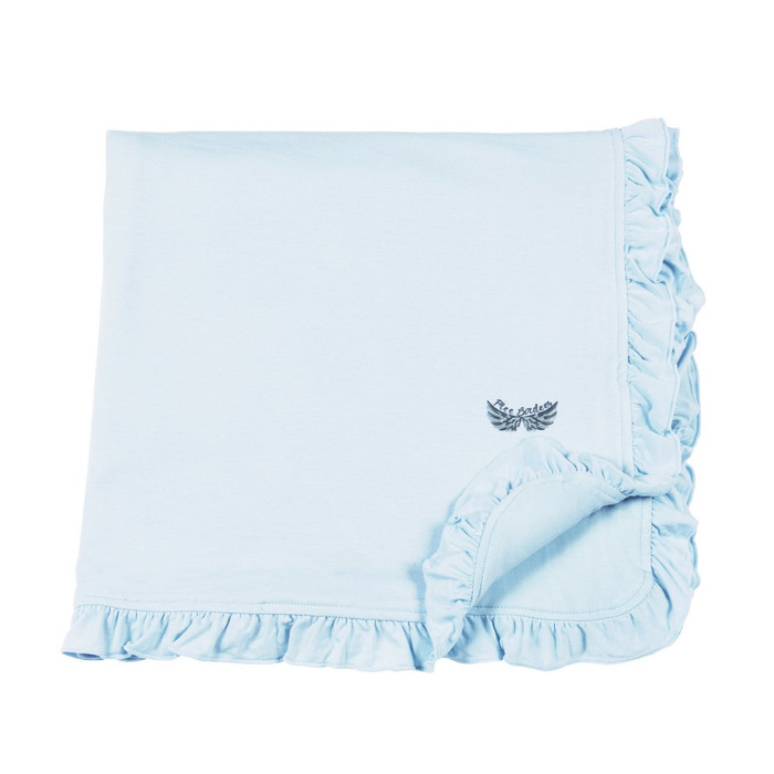 Free Birdees Season 1 - Sky Ruffle Toddler Blanket