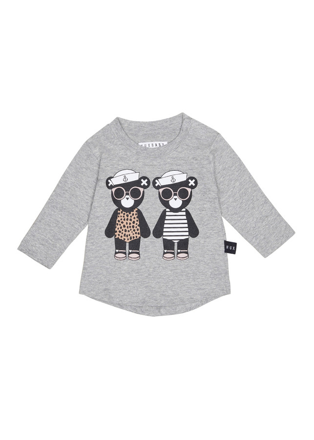 Huxbaby Twins L/S Top