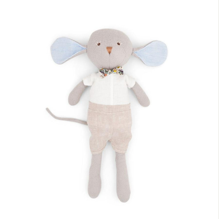 Hazel Village - Oliver Mouse in Bow Tie Outfit
