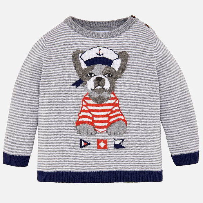 Mayoral Baby Boys Striped Sweater