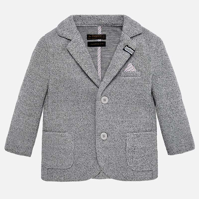 Mayoral Baby Boy Blazer - Grey
