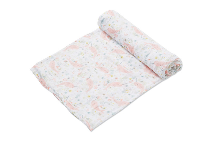 Angel Dear Swaddle - Narwhal Garden