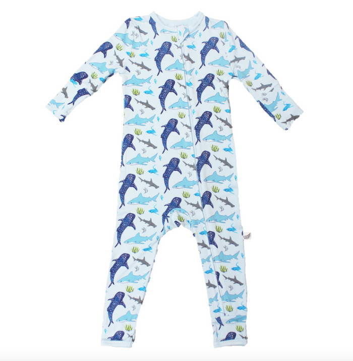 Ocean Blue Sharks Coverall