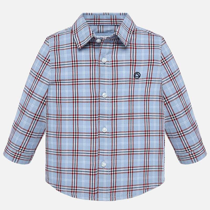 Mayoral Baby Boys Red Checked Shirt