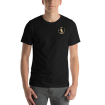 Gold Collection Unisex T-Shirt in Black