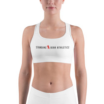 SBA Classic Collection Yoga and Gym Sports Bra in White