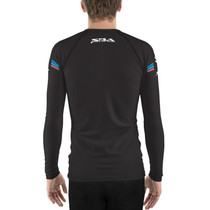 Americana Collection Rash Guard in Black