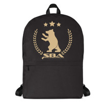 SBA Gold Collection Backpack in Black