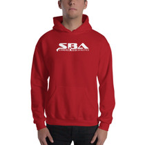 SBA Classic Collection Trainers Hoodie in Red