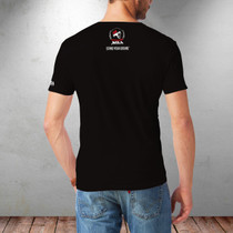 SBA Dominion Collection Crowned Destroyer - Double Sided Print T-Shirt in Black