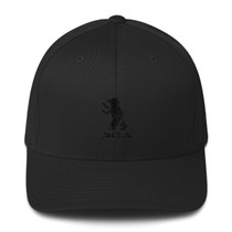 SBA Classic Collection Structured 6 Panel Gym Cap in Black