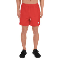 SBA Classic Collection Men's Athletic Long Shorts in Red