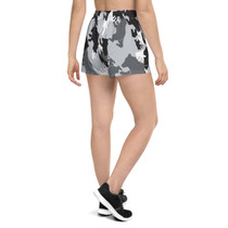 SBA Camo Women's Athletic Short Shorts
