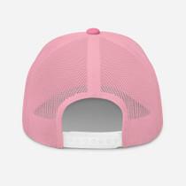 Figurlean Trucker Cap In Pink