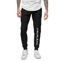 Figurlean Unisex fleece sweatpants in Black