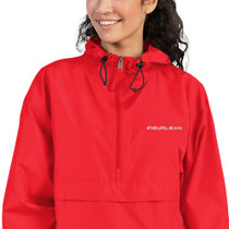 Figurlean Women's Embroidered Champion Packable Jacket