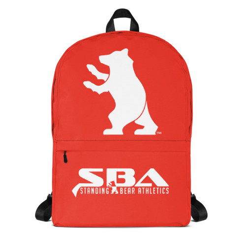 SBA Classic Collection Backpack in Red