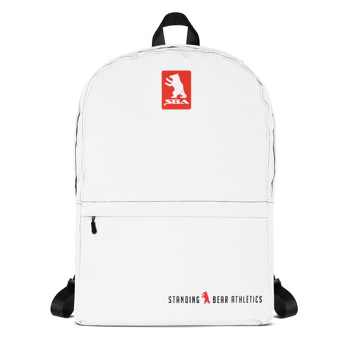 SBA Classic Collection Backpack in White