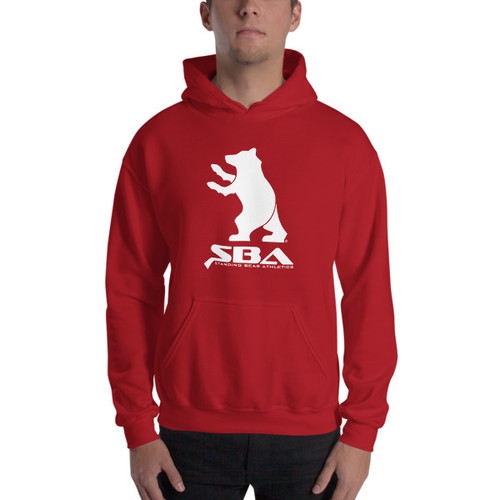 SBA Classic Collection Uisex Hoodie in Red