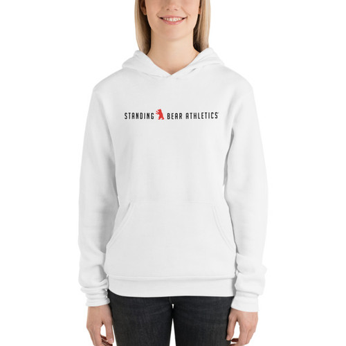 SBA Classic Collection Womens Hoodie in White
