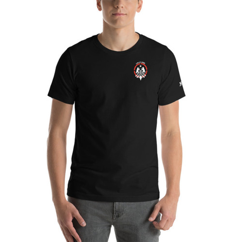 SBA Defenders Collection Double Sided T-Shirt in Black