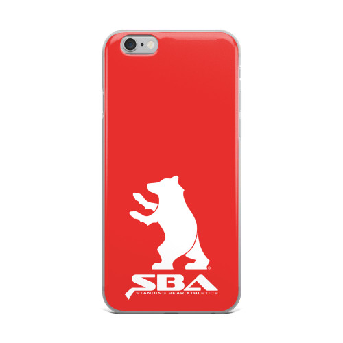 iPhone Case red 1