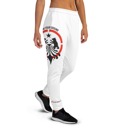 SBA Defenders Collection Women's Joggers in White
