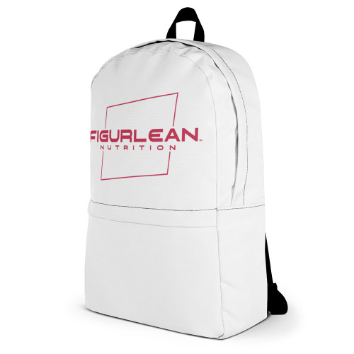 Figurlean Nutrition Gym Backpack in White