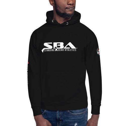 SBA Dominion Unisex Hoodie in Black