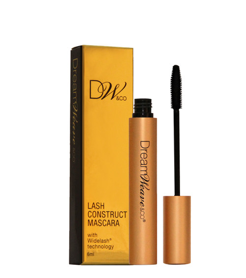 Using a clinically proven high percentage of 'WIDE LASH' serum with Peptide technology formulation, that widens the roots and stems of the lashes.  It can be used as an aftercare for Lash Lift treatments in the salon or when on a break from false lashes, it's a conditioning treatment mascara, smudge proof, curls without an iron and extends the lashes to give length.      * THIS IS A TREATMENT MASCARA *
