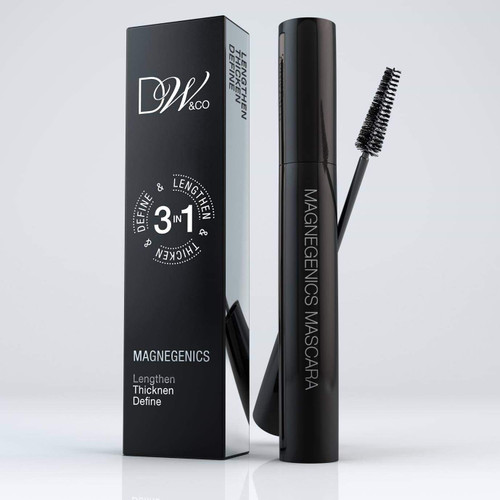 Dreamweave Magnegenics Mascara is a one-step wonder mascara that thickens, lengthens and defines.  Using a 3 in 1 silicone formulation, with a new sweeping brush, that takes the product from root to tip, creating a fuller looking lash.  So you can create a more thickening and defined look to the lashes. From any angle to build a full on striking look.  Be Bold and dramatic with Magnegenics.