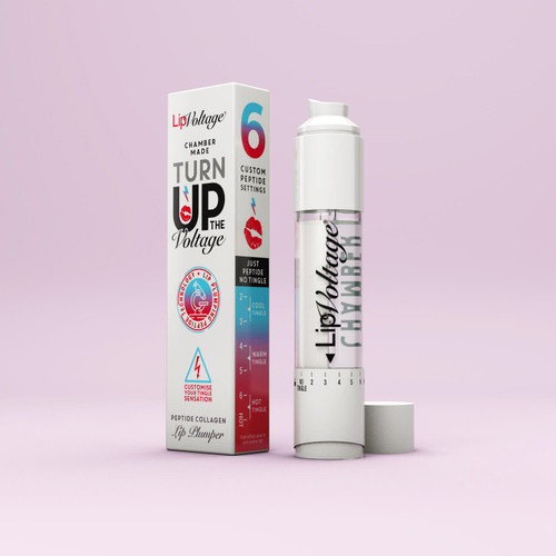 Do you want permanently bigger lips without having to get lip fillers?  Do you want to be able to control how you use your lip plumper and change the tingle sensation?  Do you want instantly larger lips for a big night out?  The most advanced Lip plumper on the market! This does work and gives brilliant results!  This is the latest version of LipVoltage with its precision, dual dispensing system, to mix 6 custom formulations in one tube. With its contoured applicator you can programme the system and interchange the tingle sensations. From its dual outer chamber to its single inner chamber, fusion meets to create a new hybrid style of lip plumping. LipVoltage contains a clinically proven Peptide Collagen ingredient that increases the collagen in your lips by 20% if used correctly over a 30 day period.