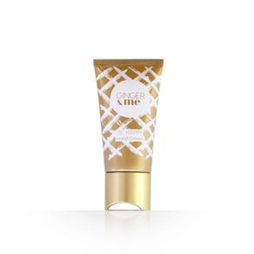 Put your hands in ours to keep your hands brighter hydrated protected and nourished. Infused with essences of Orange Blossom Jasmine Black Currant Pear and Vanilla and a U.V. filter SPF 8+ each decadent hand cream supports skin health even skin tone and advanced protection.