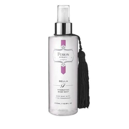 Pelactiv Fusion Body Mists are deliciously evocative fragrances that lift the mood and stimulate the senses. A luxuriously fragrant body mist with the hydrating properties of glycerine.  Vanilla Dream 60ml  A beautifully unique blend of vanilla, floral and woody notes to sweeten any mood.  Bella 60ml  Feminine. fresh and floral notes to out your inner goddess.  Aqua 60ml  A unique blend of uplifting, marine notes that create a beautifully evocative fragrance.  Coco Lime Fusion  60ml  The perfect fusion of Coconut and Lime- Coco Lime fusion delivers the ultimate holiday fragrance memory.