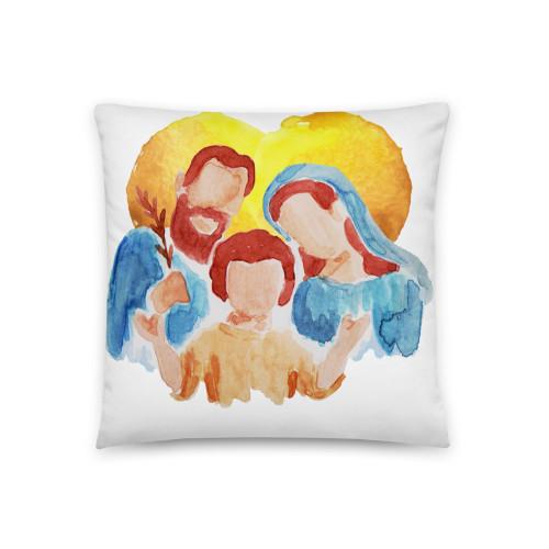 Holy Family Basic Pillow