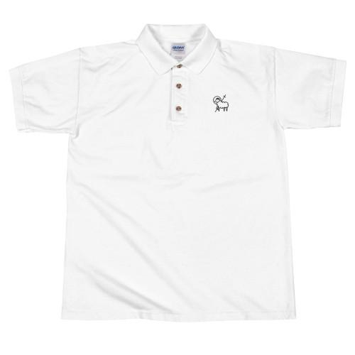 Agnus Dei Embroidered Polo Shirt