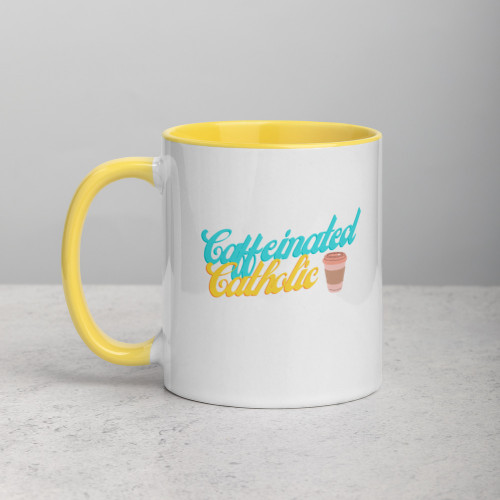 Caffeinated Catholic Mug