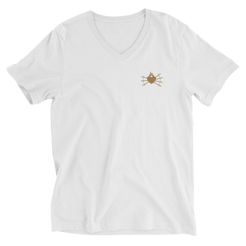 Our Lady of Sorrows  V-Neck T-Shirt